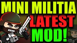 Mini Militia Pro Pack Mod APK Latest 4.0.42 Download [All Store Items Unlocked]