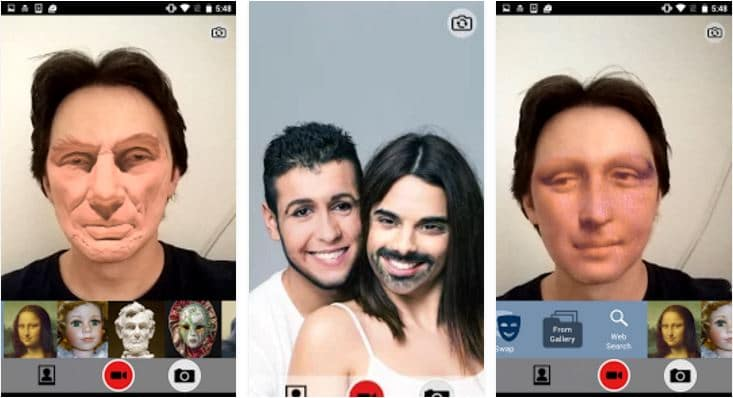 Best Snapchat like Face Filter Apps for Android