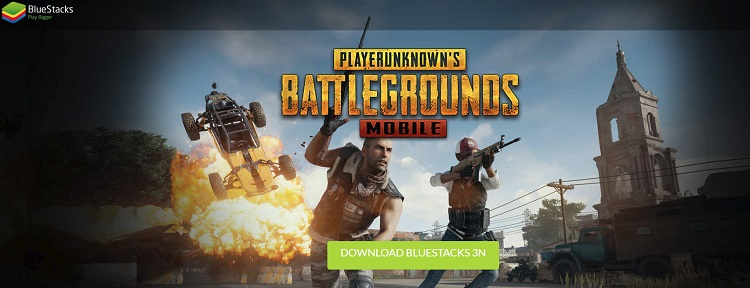 PUBG on Bluestacks